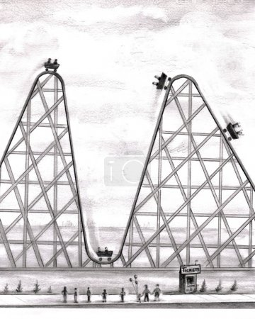 better, worse, roller, coaster - B4278849