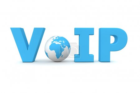 VoIP World Blue - Small Globe