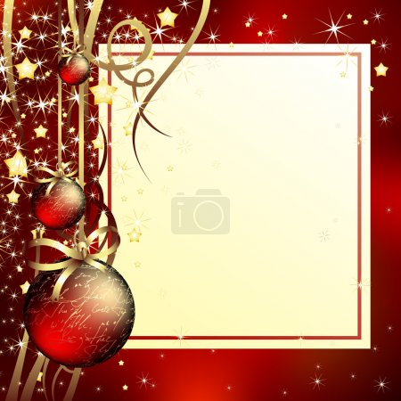 Photo for Christmas background, this illustration may be useful as designer work - Royalty Free Image