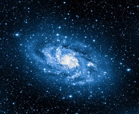 Photo pour Traungulum galaxie m33 - image libre de droit