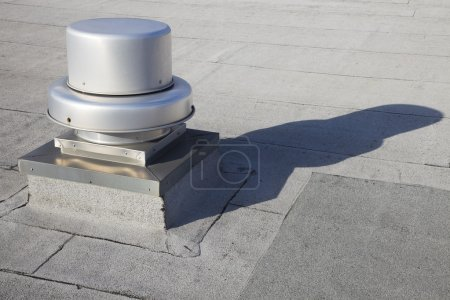 Vent on the roof