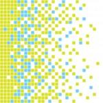 Vector illustration of pixel background