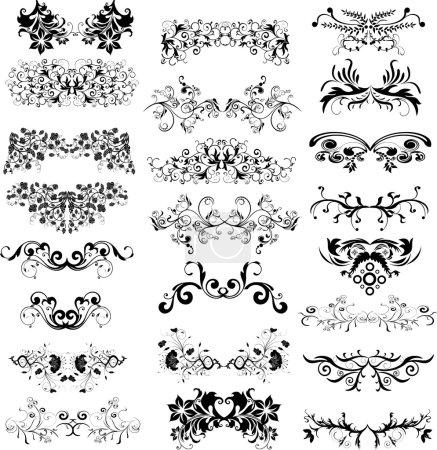 Illustration pour Cadre vintage pour votre design - image libre de droit