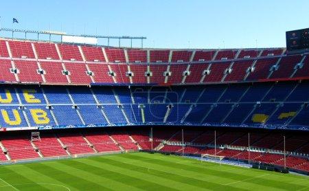 Seating in soccer stadium