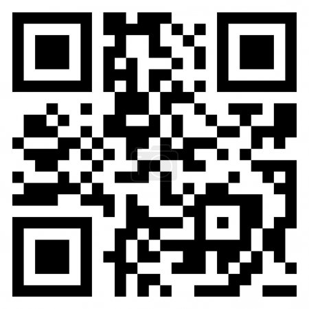 Big Sale data in qr code. (modern bar code). EPS 8