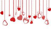 Valentinky den pozadí. EPS 8