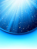Abstract blue background with stars EPS 8 vector file included