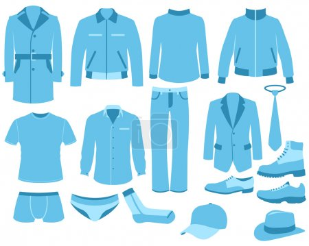 Man clothes set