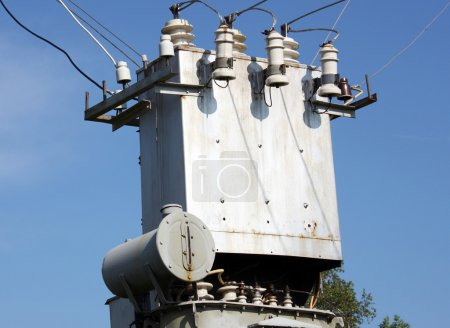 The electric transformer