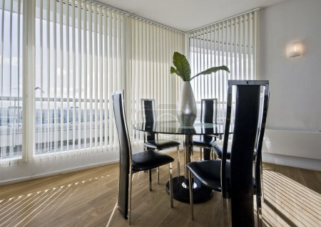 Stylish modern dining room
