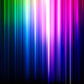 Abstract glowing background with rainbow stipes Vector illustration