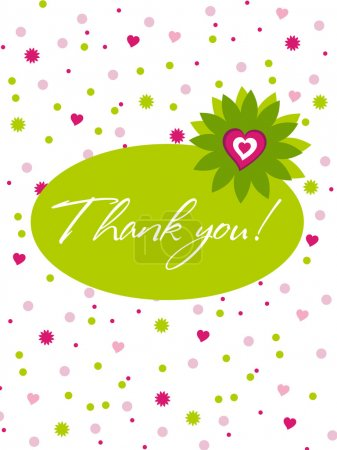 Thank you card assorted