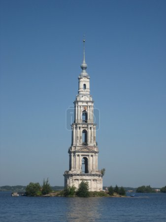 The old Bell Tower on the island.