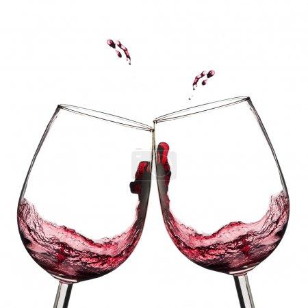 Wine toast.