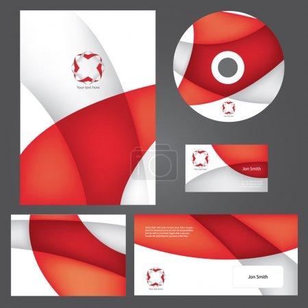 Illustration for Business style esign template. - Royalty Free Image