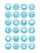 Web blue signs