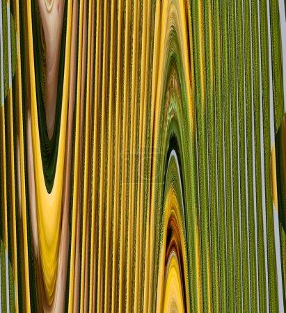 Photo pour Belle illustration abstraite pour une utilisation dans un fond numérique - image libre de droit