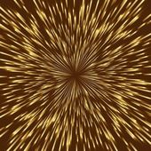 Golden vector fireworks