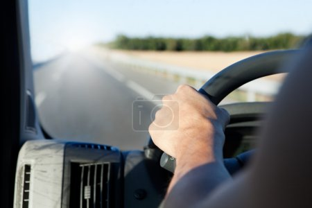 Driver and road