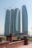 Abu Dhabi skyline building at day