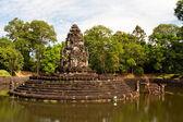 Preah Neak Pean Temple. Angkor. Cambodia
