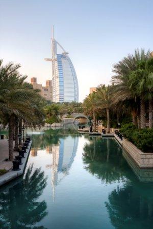 Dubai resort and burj al arab