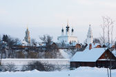 View of the Ancient Churches. Suzdal.