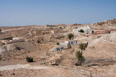 Troglodytic village in the Sahara desert