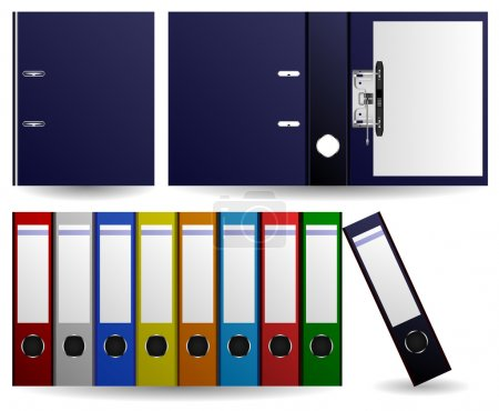 Files and Folders Ring Binder