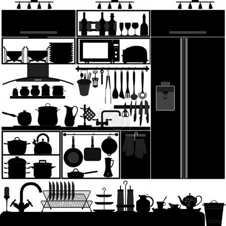 Kitchen Utensil Tool Interior Design Equipment