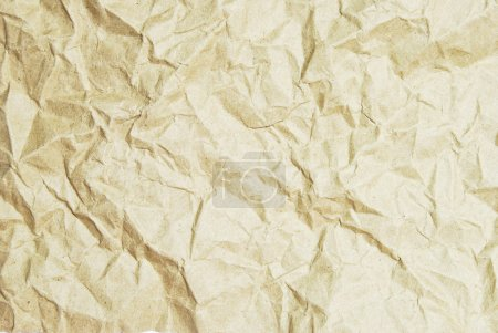 Crumpled recycle paper texture background