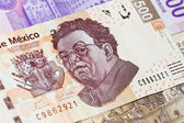 New mexican 500 bill Diego Rivera