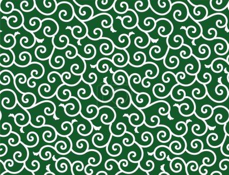 Illustration for Background of swirl. Vector illustration. - Royalty Free Image
