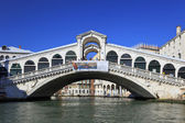 Bridge Rialtol in Venice.