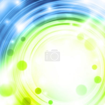 Illustration for Spring abstract background with copyspace for your text - Royalty Free Image