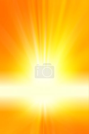 Photo for Surreal yellow tone vertical background. Copy space - Royalty Free Image
