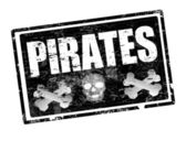 Pirates stamp
