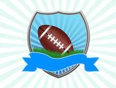 American football shield