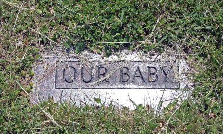 Grave marker of child