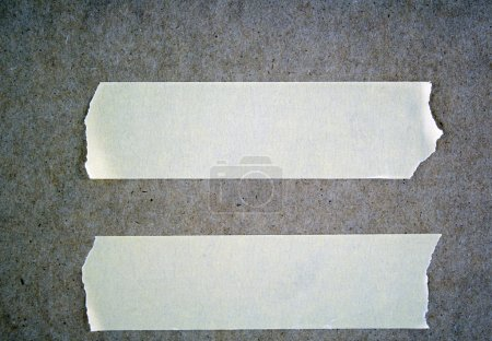 Photo for Strips of masking tape for signs and notes - Royalty Free Image