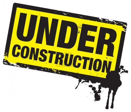 Photo for Under construction stamp - Royalty Free Image
