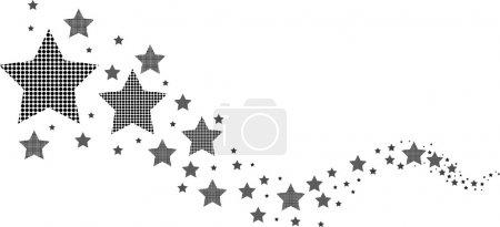 Illustration for Star background - Royalty Free Image