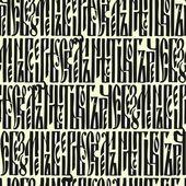Seamless manuscript pattern