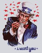 Smiling Uncle Sam
