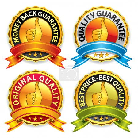 Quality Guarantee Badges