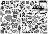 Vector set with over 100 design elements and logo's Need more? Check out my portfolio