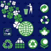 Ecology Environmental Icons