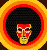 Graphic design of a soul man