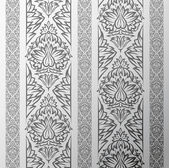 Vector old wallpaper background with seamless floral elements