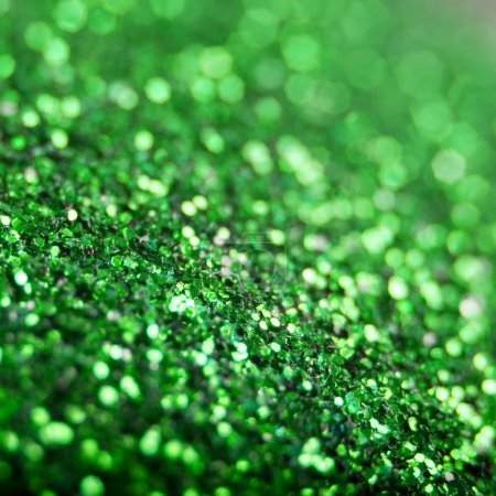 Photo for Christmas background.emerald abstract texture - Royalty Free Image